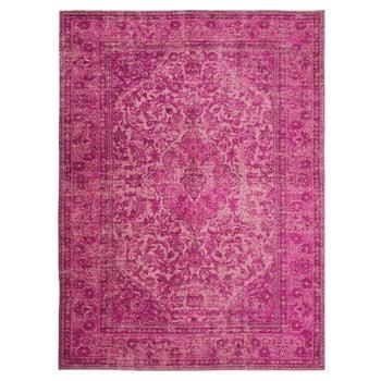 Covor țesut manual Flair Rugs Palais, 120 x 170 cm, roz