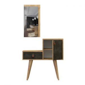 Set masă consolă și oglindă Janna