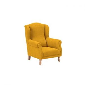 Fotoliu pentru copii KICOTI Comfort, galben