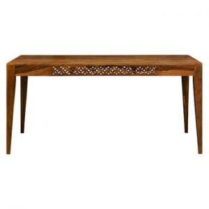 Masă dining din lemn de palisandru Massive Home Rosie, 90 x 200 cm
