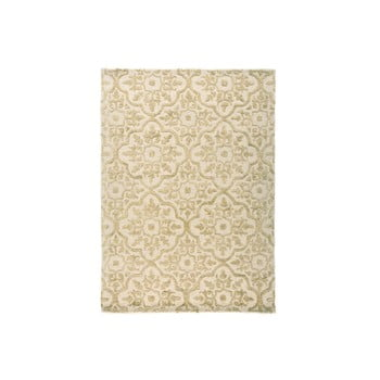 Covor țesut manual Flair Rugs Knightsbridge, 120 x 170 cm, bej