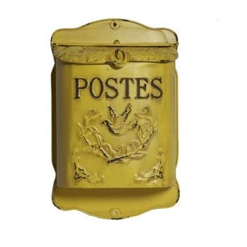 Cutie poştală Antic Line Jaune