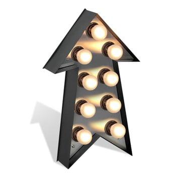 Decorațiune luminoasă Glimte Lamp Floor Strzalka