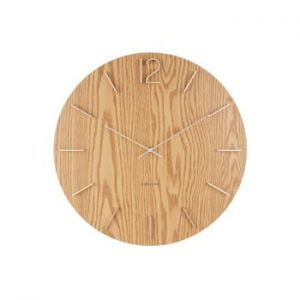 Ceas de perete Karlsson Meek, ⌀ 50 cm, portocaliu