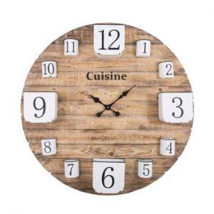 Ceas de perete din lemn Antic Line, ø89cm