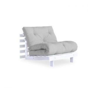 Fotoliu extensibil Karup Design Roots White/Light Grey