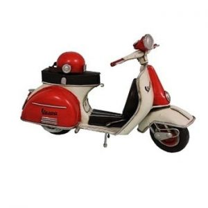 Scuter decorativ Antic Line Scooter Coot
