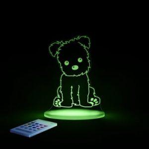 Lampă de veghe cu LED pentru copii Aloka Puppy