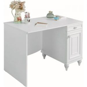 Birou Romantica Study Desk, alb