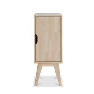 Noptieră fabricată manual din lemn de mesteacăn Kiteen Kolo