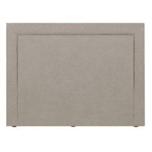 Tăblie de pat Mazzini Sofas Ancona, 200 x 120 cm, crem