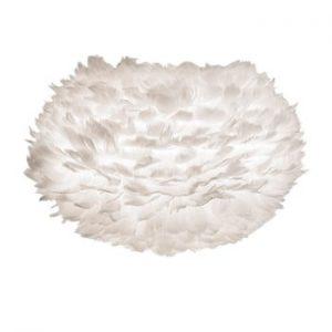 Abajur cu pene de gâscă VITA Copenhagen EOS, Ø 45 cm, alb