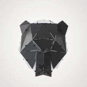 Decorațiune din metal pentru interior / exterior Geo Orso