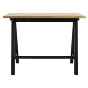 Masă bar din lemn de stejar alb Unique Furniture Oliveto