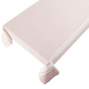 Față de masă din bumbac Ego Dekor New French, 250 x 140cm, roz deschis