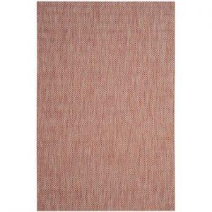 Covor potrivit pentru exterior Safavieh Como, 231 x 160cm, bej - roșu