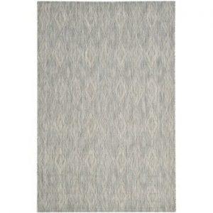 Covor Safavieh Biarritz, adecvat și pentru exterior, 160 x 231 cm, gri