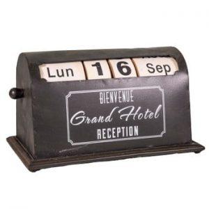Decorațiune calendar Antic Line Grand Hotel