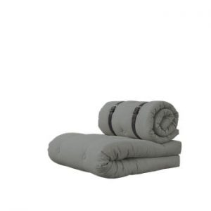 Fotoliu extensibil Karup Design Buckle Up Grey