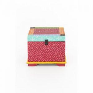 Cutie depozitare din lemn de salcâm WOOX LIVING India Colore