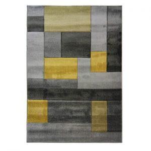 Covor Flair Rugs Cosmos Grey Ochre, 120 x 170 cm