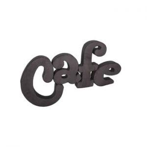 Inscripție decorativă Antic Line Café