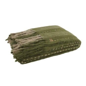 Pătură BePureHome Hug, 170 x 130 cm, verde