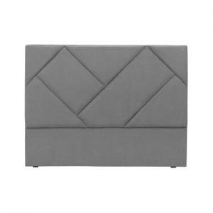 Tăblie de pat HARPER MAISON Annika, 180 x 120 cm, gri
