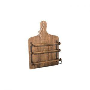 Suport de perete din lemn pentru folie de plastic/aluminiu Antic Line