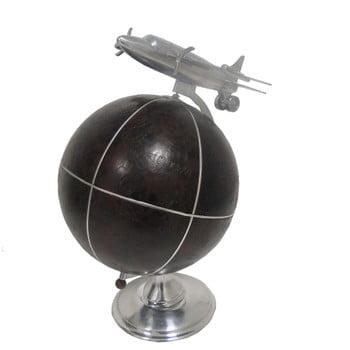 Glob decorativ cu avion Antic Line