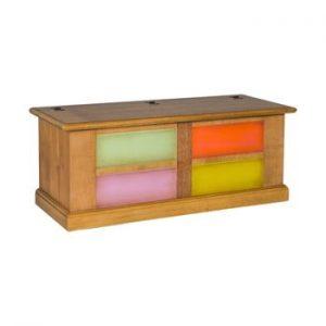Cufăr cu sertare colorate Evergreen House Chest