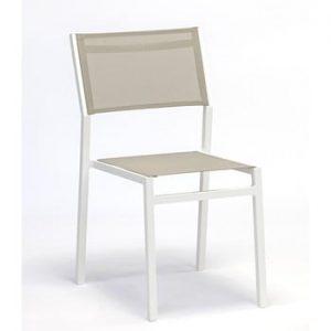 Set 4 scaune de grădină Ezeis Zephyr, taupe