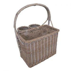 Coș pentru picnic cu suport sticle Antic Line