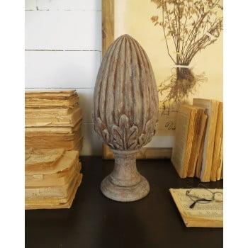 Decorațiune din lemn de mango Orchidea Milano Dario Big, ⌀ 16 cm