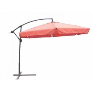Umbrelă de soare pentru grădină ADDU Terracotta Offset, Ø 300 cm