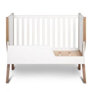 Pătuț din lemn pentru copii YappyKids Icon, 60 x 120 cm