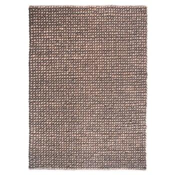 Covor lucrat manual The Rug Republic Baker Beige, 160 x 230 cm