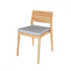 Set 4 scaune de grădină din lemn de tec Ezeis Aquariva
