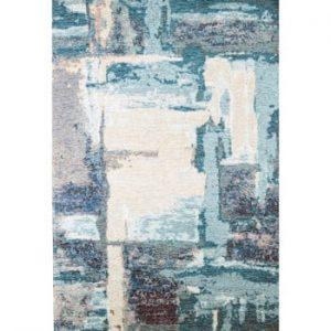 Covor Eko Rugs Leonore, 135 x 200 cm, albastru