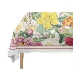 Față de masă Madre Selva Spring, 140 x 250 cm