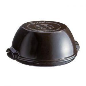 Formă rotundă de copt pâine Emile Henry, ⌀ 29,5 cm, negru piper