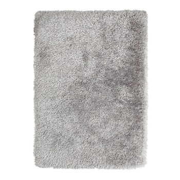 Covor țesut manual Think Rugs Montana Puro Silver, 80 x 150 cm, gri