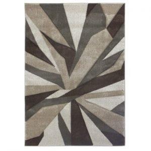 Covor Flair Rugs Shatter Beige Brown, 80 x 150 cm, bej - maro