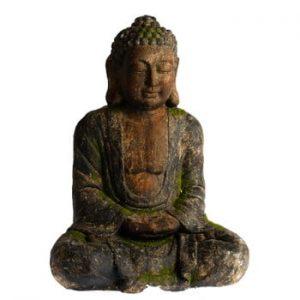 Decorațiune de grădină Dakls Garden Deco Buddha, înălțime 27,5 cm