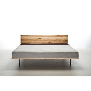 Pat din lemn de frasin tratat cu ulei Mazzivo Modo, 120x200cm