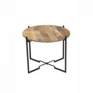 Masă de cafea WOOX LIVING Fera, ⌀ 53 cm