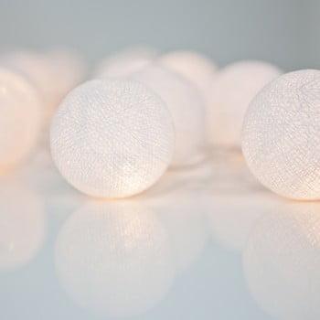 Șirag luminos Irislights Pure White, 35 beculețe