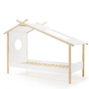 Pătuț pentru copii Vipack Cocoon, 230 x 100 cm, alb
