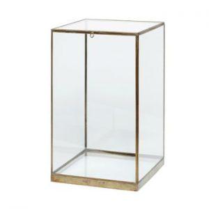 Cutie din sticlă pentru depozitare Hübsch Galeo, 25 x 42 cm