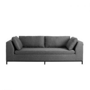 Canapea extensibilă 3 locuri Custom Form Ambient, gri închis